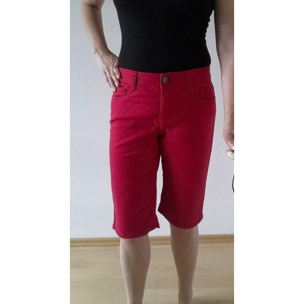 Kurze Denim Strech Jeans
