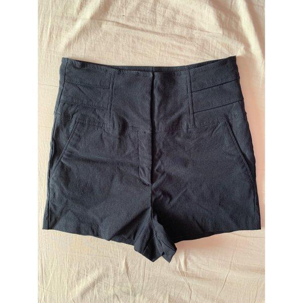 Kurze High-waist Hose