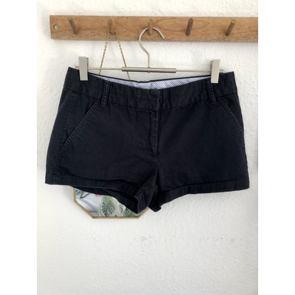 Zara Basic Shorts blu scuro