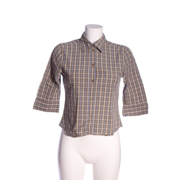 L.O.G.G Hemd-Bluse Karomuster Casual-Look