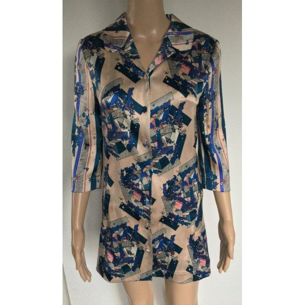 La Perla, Short Silk Dress, mehrfarbig, Seide/Elasthan, 32 (It. 38), neu, € 1.800,-