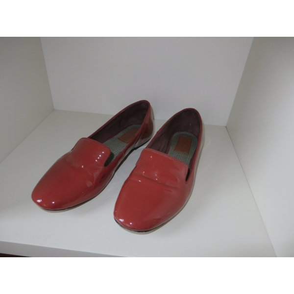 Lackloafer von Marc O'Polo, rostrot