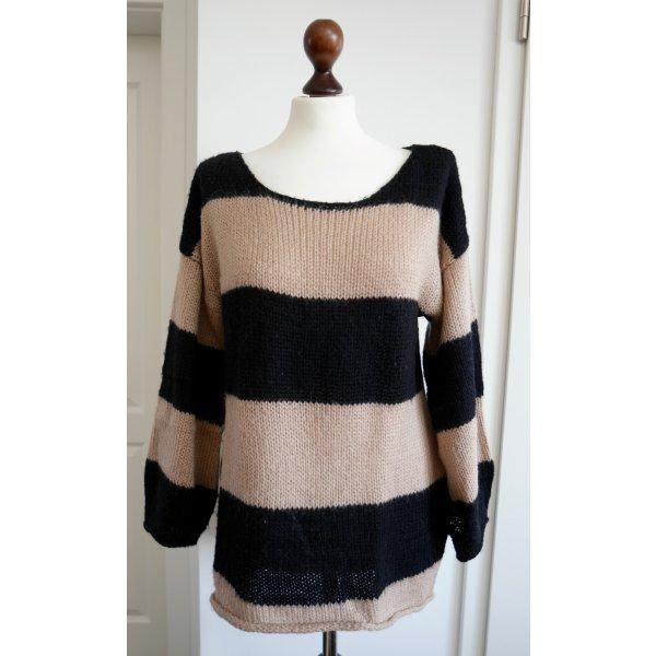 Lässiger oversize Pullover von Topshop mit Streifen