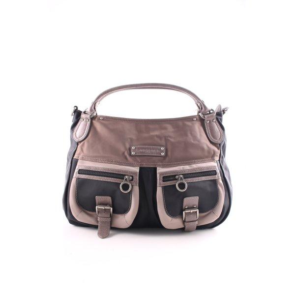 LANCASTER Shopper braun-schwarz Farbverlauf Casual-Look