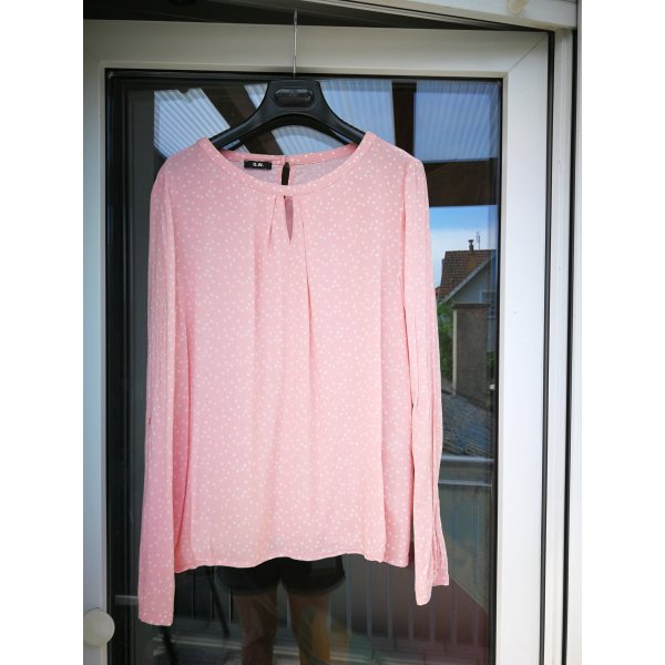 Gerry Weber Camicetta a blusa bianco-rosa pallido