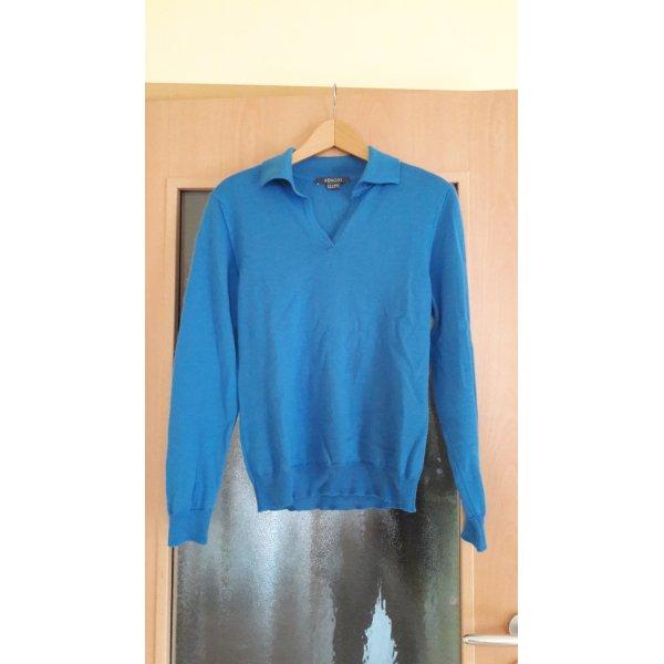 langarm Pullover mit Kragen