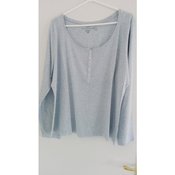 Langarmshirt bleumeliert von H&M