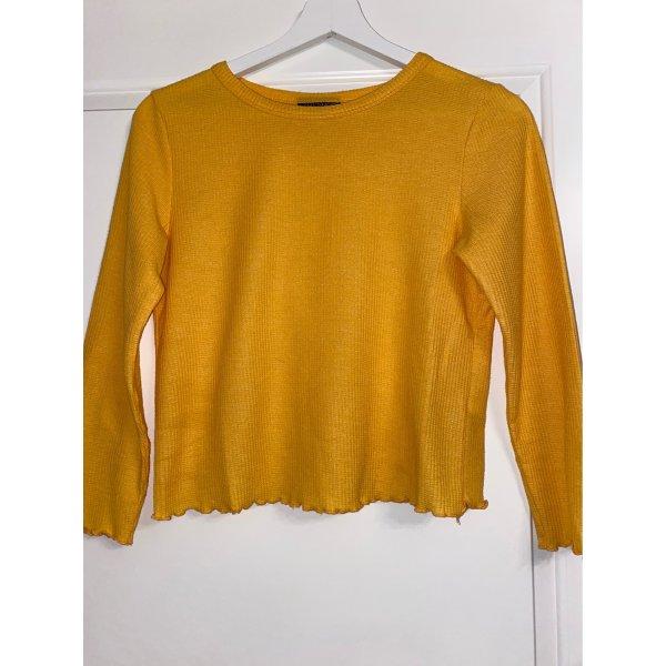 Langarmshirt ( kurz geschnitten) von Top Shop