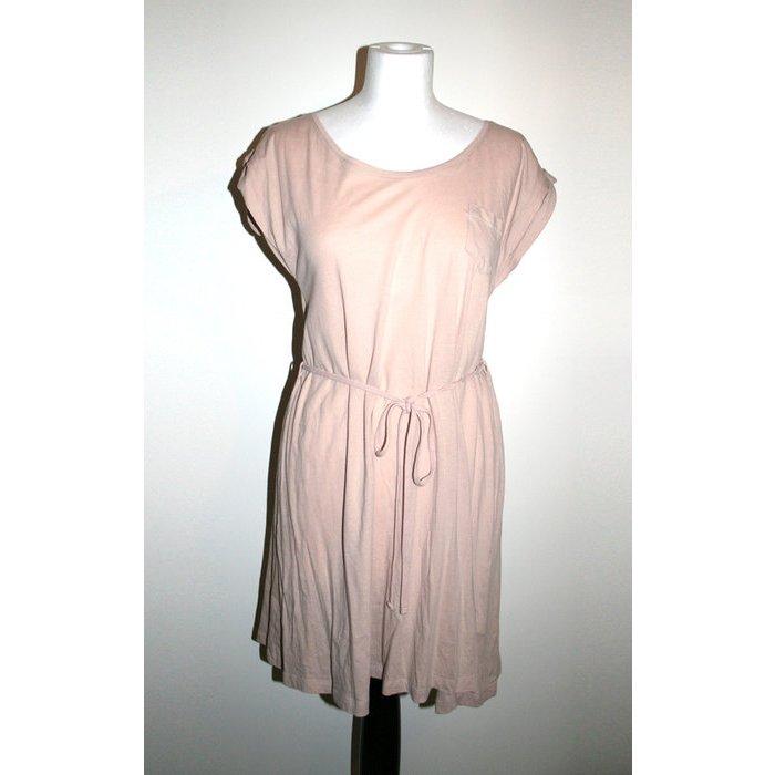 Langes Top / Kleid, beige/rosé, Gr. S