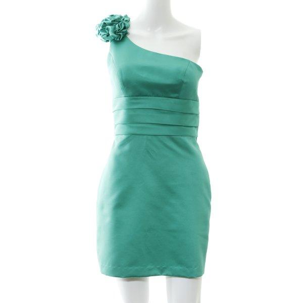 Laona One-Shoulder-Kleid waldgrün Elegant