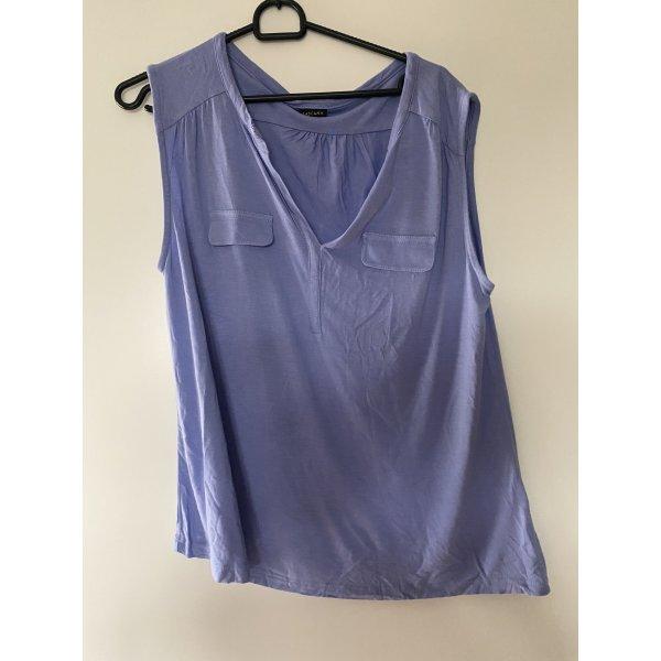 Lascana Bluse L lila blau