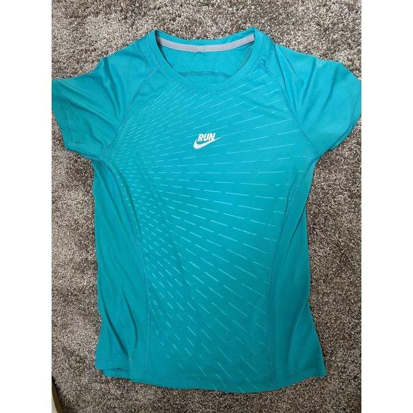 Laufshirt petrol Gr. 36, S, Nike