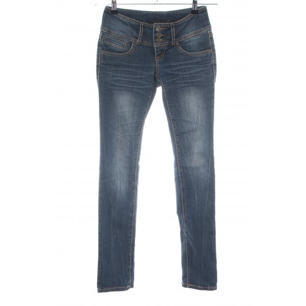Laura Scott Skinny Jeans blau Casual-Look