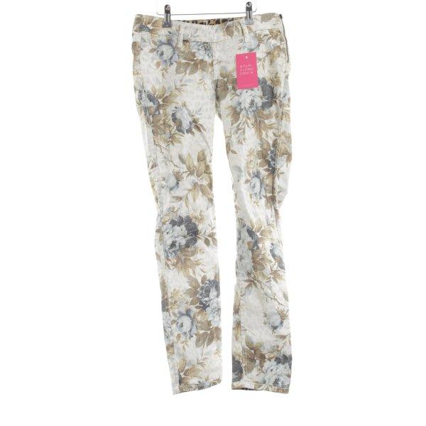 Laura Scott Skinny Jeans Blumenmuster Casual-Look