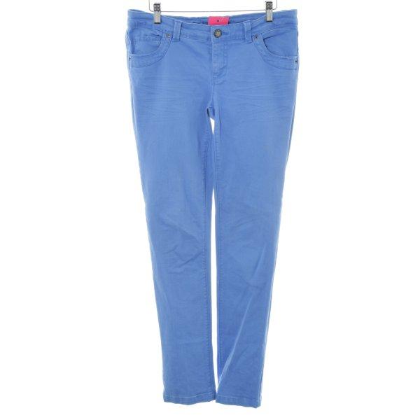 Laura Scott Slim Jeans blau Casual-Look