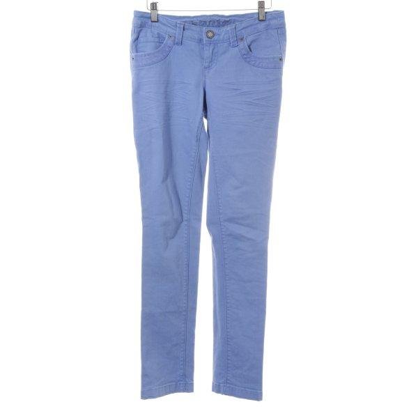 Laura Scott Slim Jeans kornblumenblau Casual-Look