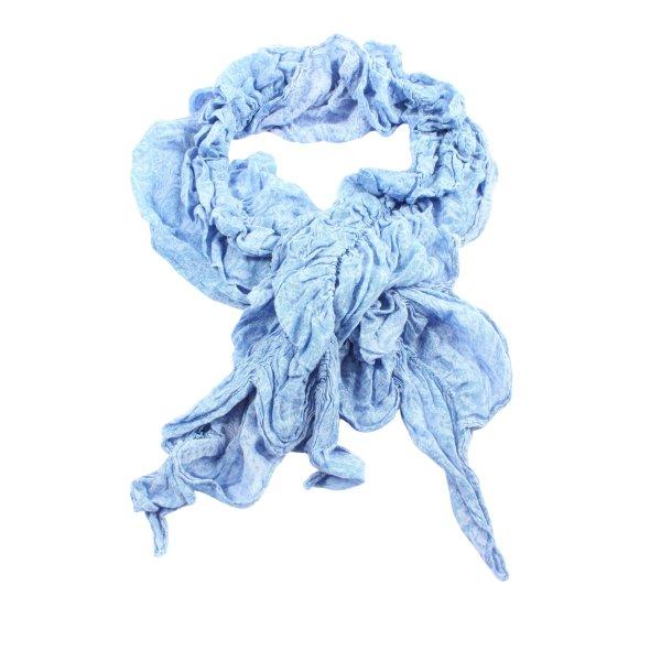 Laura Torelli Summer Scarf blue casual look