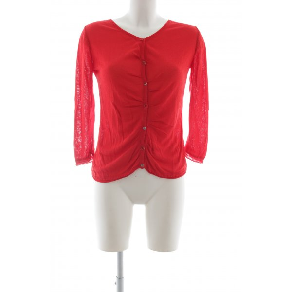 Laurèl Cardigan rot Casual-Look
