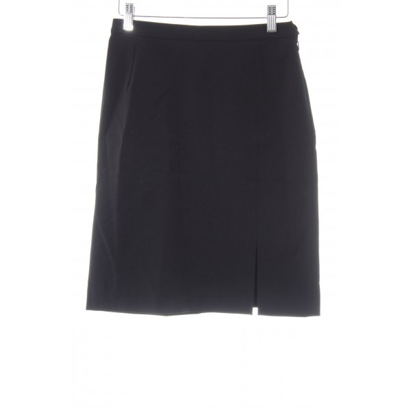 Laurèl High Waist Rock schwarz Business-Look