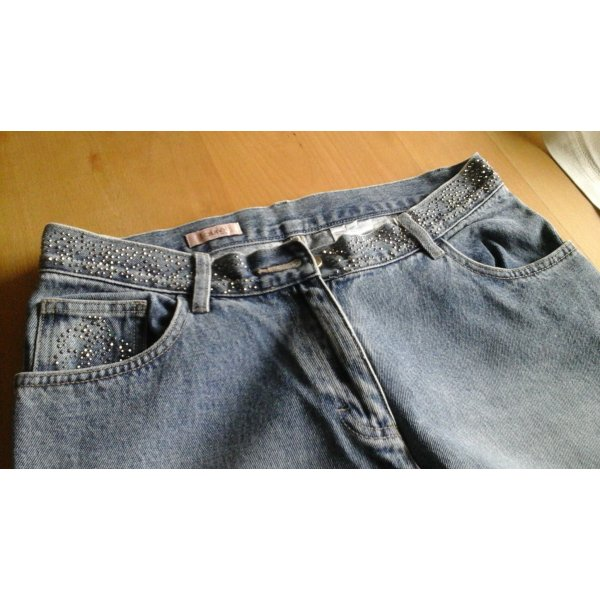 Laurel Jeans mit Strassapplikationen