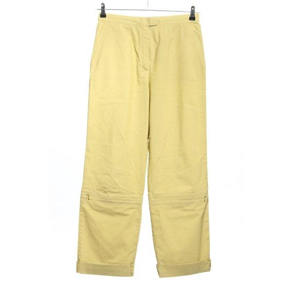 laurel jeans Stoffhose blassgelb Casual-Look