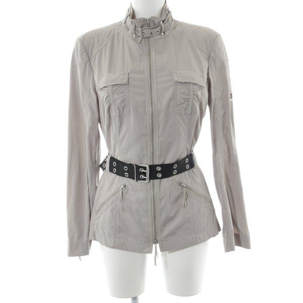 Laurèl Übergangsjacke beige-schwarz Casual-Look