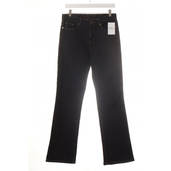Lauren Jeans Co. Ralph Lauren Boot Cut Jeans dunkelblau Casual-Look