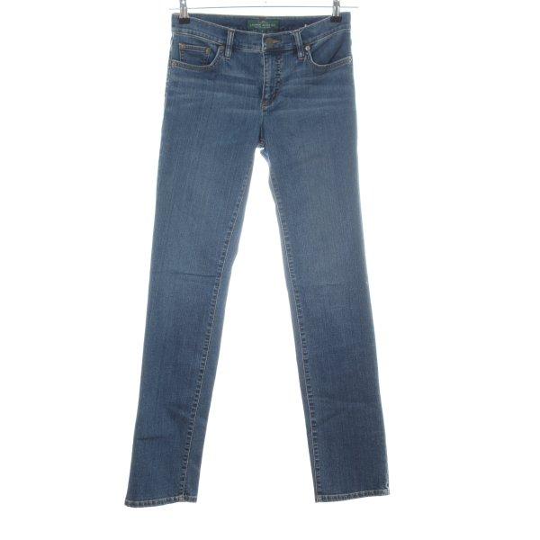 Lauren Jeans Co. Ralph Lauren Straight-Leg Jeans blau Casual-Look