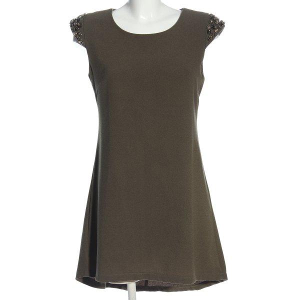 Layers Minikleid hellgrau Casual-Look