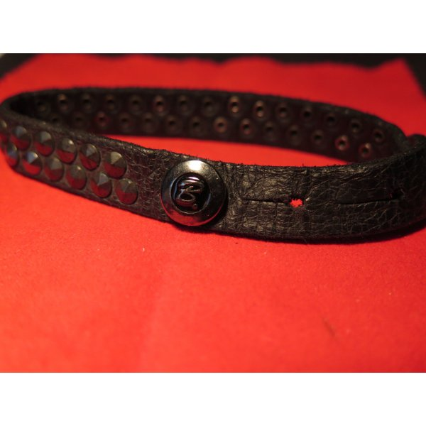 Leder-Armband, Metallnieten