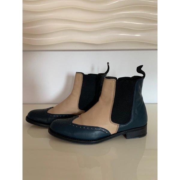 Leder Chelsea Boots Gr:37