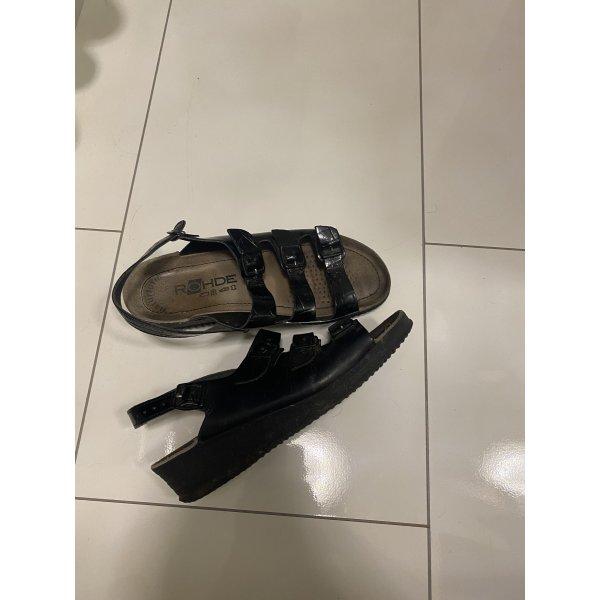 Leder sandalen in 38 echtes Leder