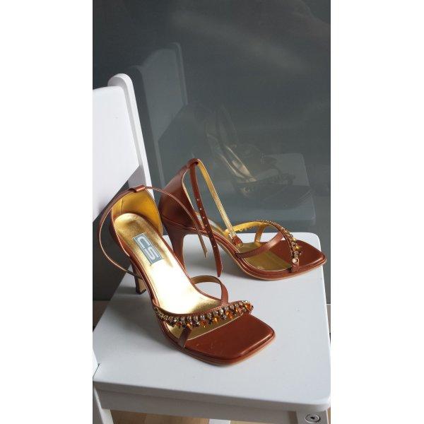 High Heel Sandal multicolored leather