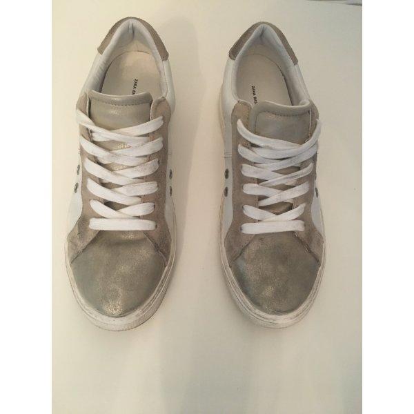 Ledersneaker von Zara *40*