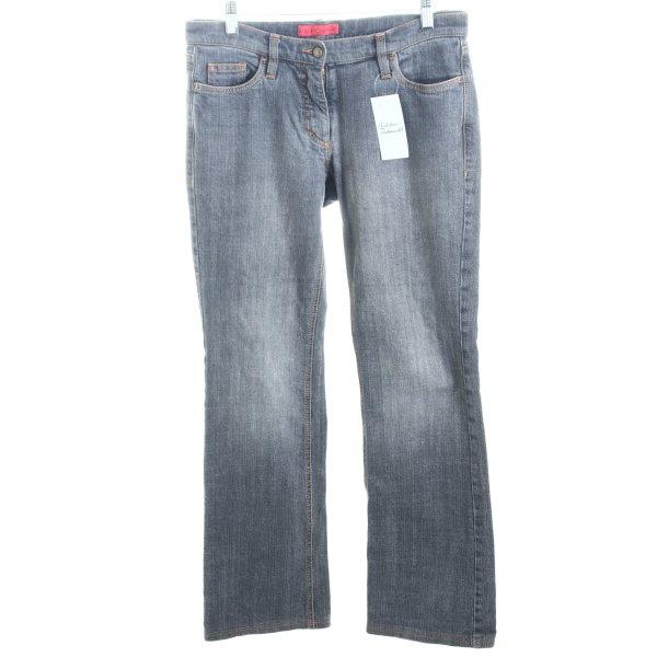 Lee Boot Cut Jeans grau Casual-Look
