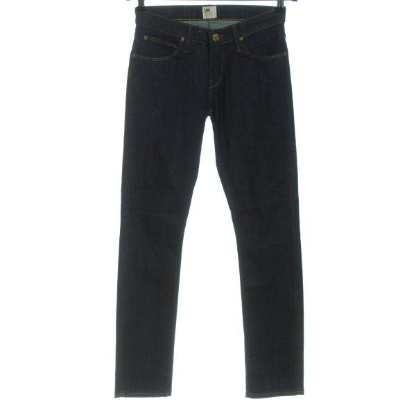 Lee High Waist Jeans blau Casual-Look