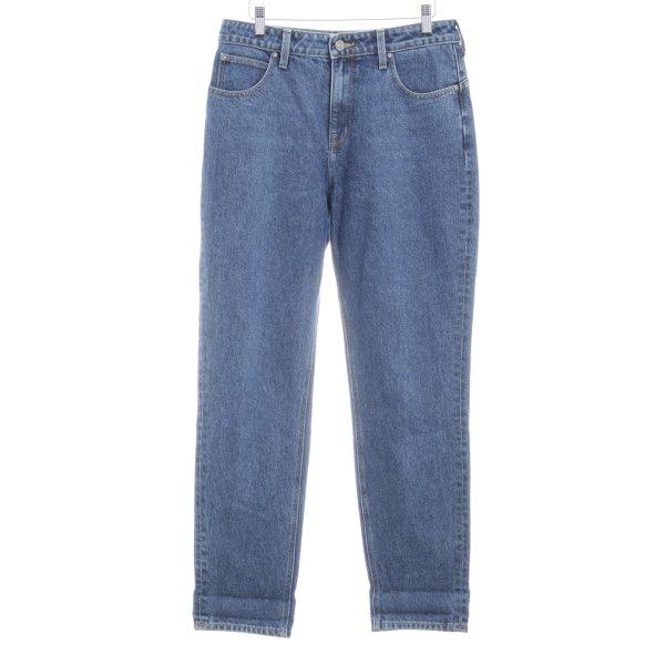 Lee High Waist Jeans blau schlichter Stil