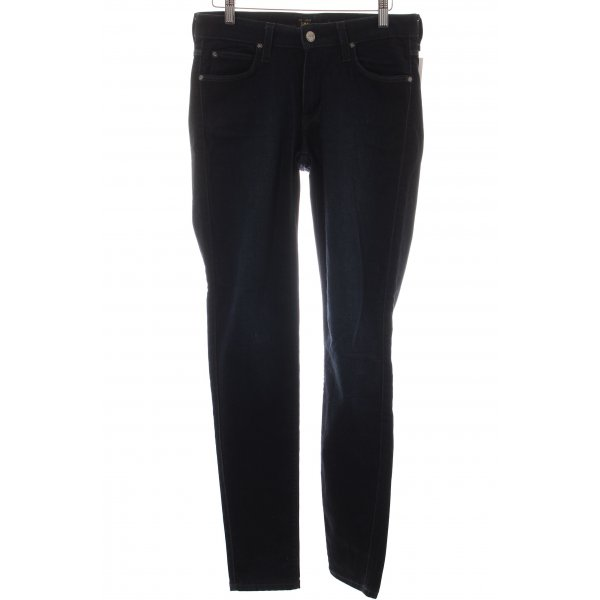 Lee Stretch Jeans dunkelblau Casual-Look