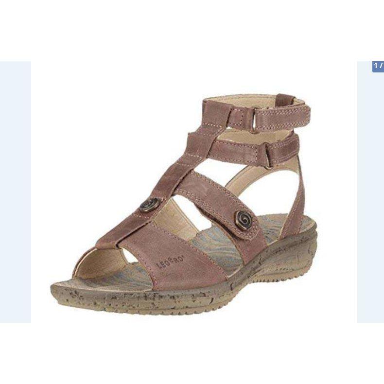 Legero Sandalo outdoor marrone chiaro Pelle