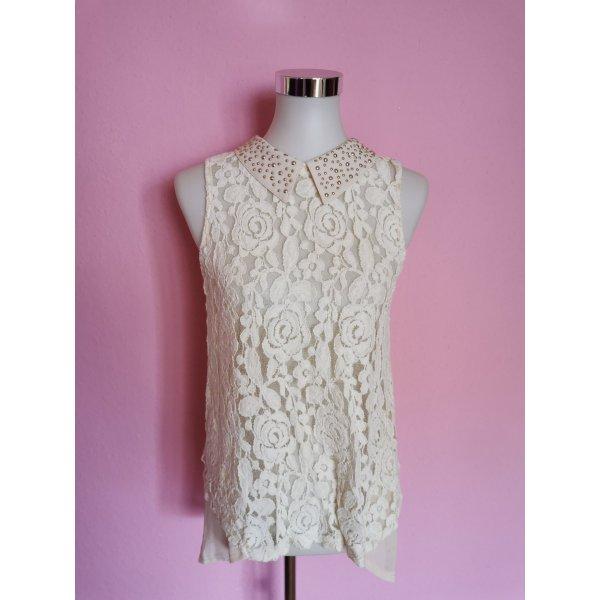 Leichte Bluse mit Blumenstickerei (K3)