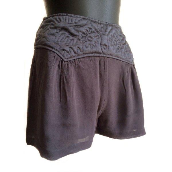 Leichte, luftige High Waist Chiffon-Shorts
