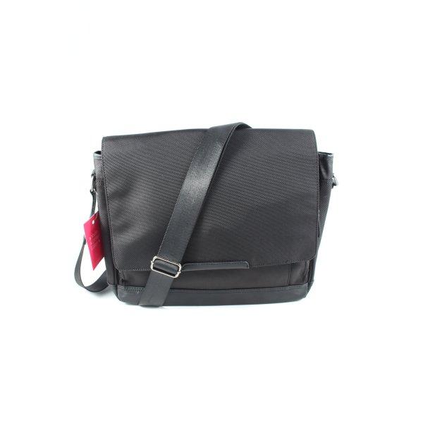 Leonhard Heyden Notebooktasche schwarz Business-Look