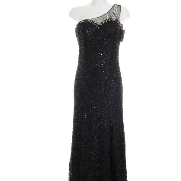 Letzter Preis:  Stella Morgan One-Shoulder-Kleid schwarz Elegant