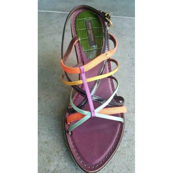 Letzter TOP Preis,mehr geht nicht:-))) !!! Louis Vuitton Sandaletten , High Heel, Gr.39