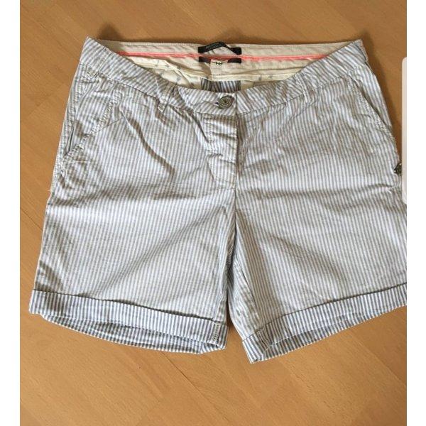 Letztes Angebot 7 €!! Maison Scotch blau weiß gestreift Shorts Gr. W29 - 38/40