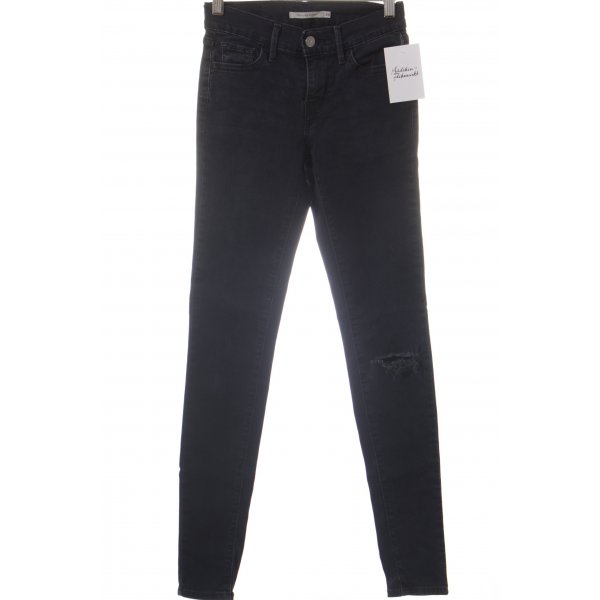 Levi's Jeans dunkelblau Casual-Look