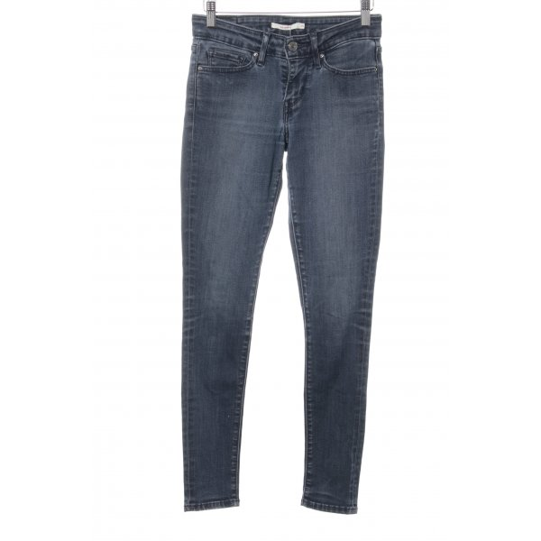 Levi's Skinny Jeans graublau Street-Fashion-Look