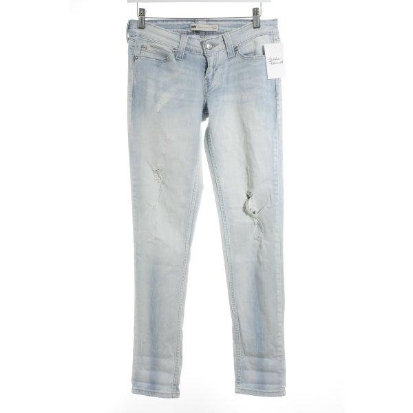 Levi's Skinny Jeans hellblau Street-Fashion-Look