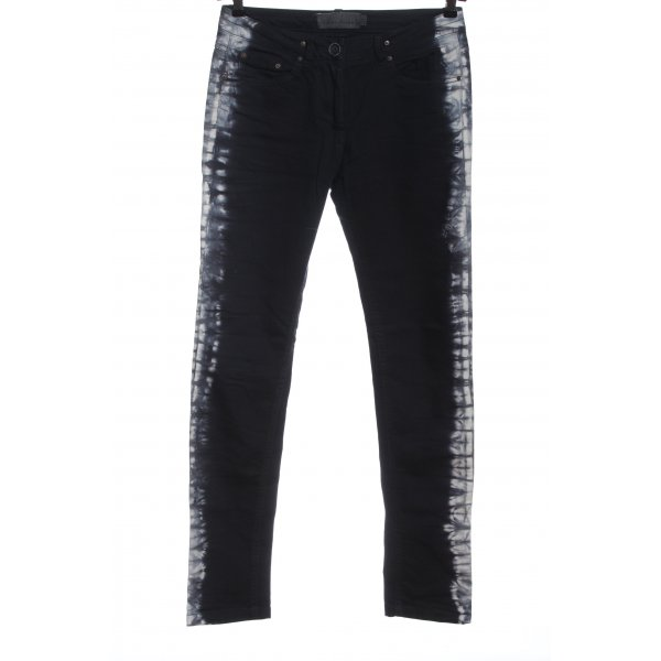 Liebeskind Berlin Straight Leg Jeans black-white casual look
