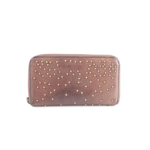 Liebeskind Wallet brown-gold-colored elegant